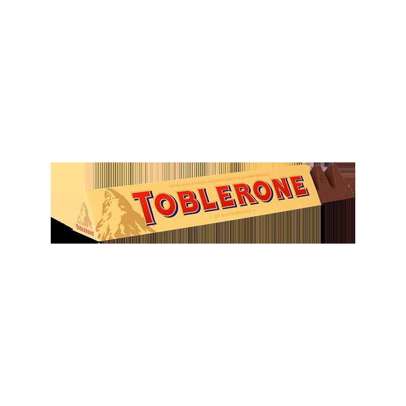 Chocolat au lait suisse avec nougat au miel et aux amandes