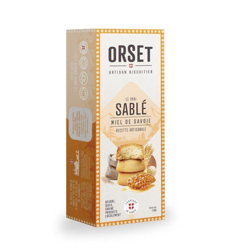Sablésau miel de Savoie - Recette artisanale