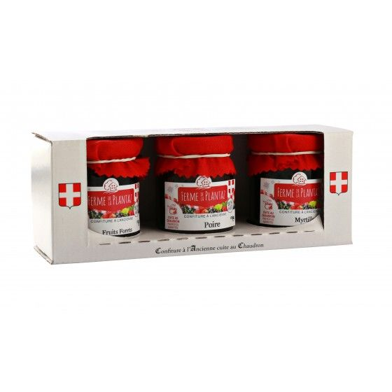 Coffret Confiture Myrtille...