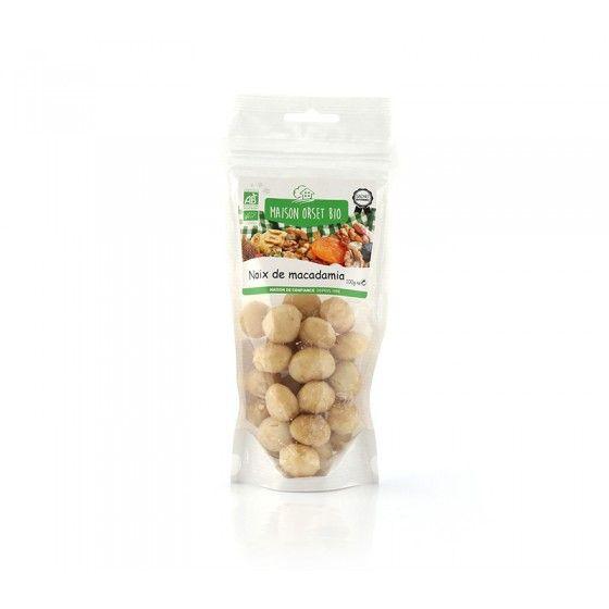 Noix Macadamia Bio