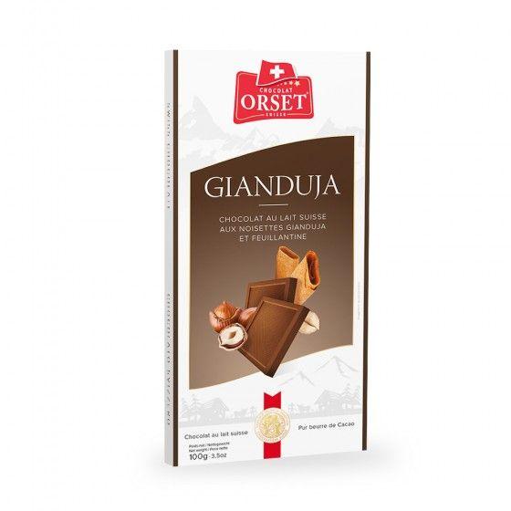 Lait Gianduja
