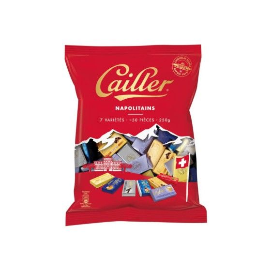 Napolitains Assortis CAILLER